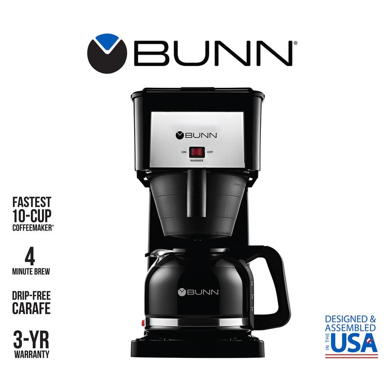 BUNN Classic Speed Brew 10 Cup Coffee Maker