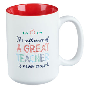 Influence of a Good Teacher Coffee Mug