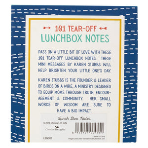 Inspirational Lunch Box Notes by Karen Stubbs Back