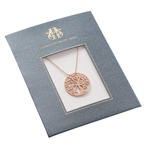 Tree of Life Necklace in Packaging