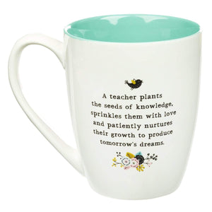 World's Greatest Teacher Coffee Mug Back
