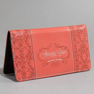 Amazing Grace Checkbook Cover Angle