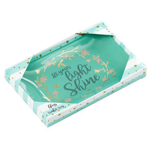 Let Your Light Shine Trinket Dish in Gift Box
