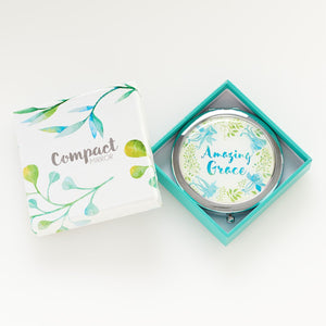 Amazing Grace Compact Mirror in Gift Box