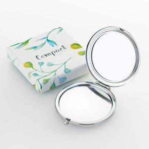 Amazing Grace Compact Mirror Opened with Gift Box