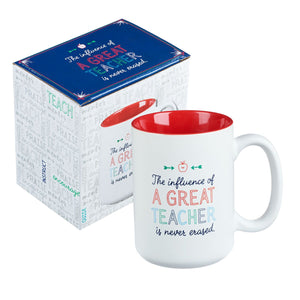 A Great Teacher Coffee Mug with Box
