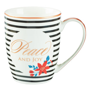 Peace and Joy Christmas Mug