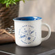 Amazing Grace Nautical Camp Mug on Table