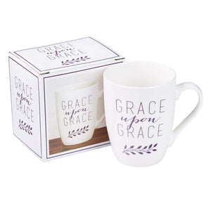 Grace Upon Grace Coffee Mug with Gift Box