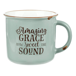Amazing Grace Camp Mug