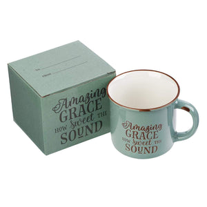 Amazing Grace Camp Mug with Gift Box