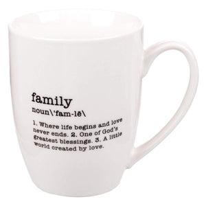 Family Definition Coffee Mug