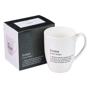 Home Definition Coffee Mug with Gift Box