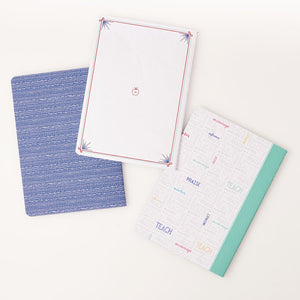 Great Teacher  Notebook Set Back