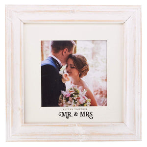 Better Together - Mr. and Mrs. Picture Frame