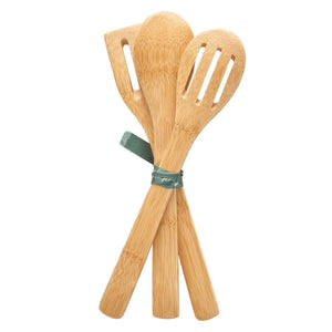 Thankful, Grateful, Blessed Wooden Spoon Set Back