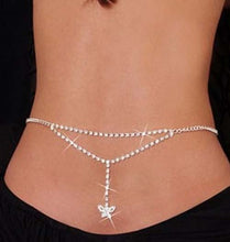 Load image into Gallery viewer, Rhinestone Body Chain