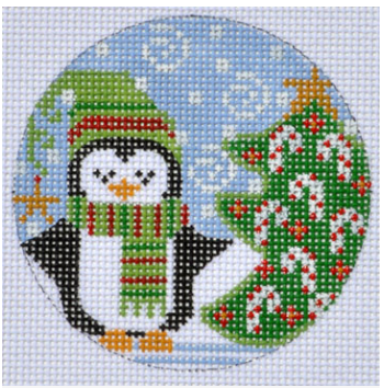 Cheryl Huckaby:PFOS-11 (Christmas Tree Penguin)