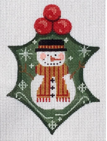 Cheryl Huckaby:WTP-22 (Snowman Holly)