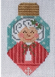 Cheryl Huckaby:CH-281 (Mrs. Claus Ornament)