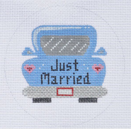 ZIA:ZIA-76 (Just Married Car Ornament)