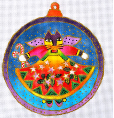 Laurel Burch:LB-36 (Cat Angel Ornament)