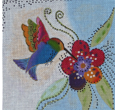 Laurel Burch:LB-59 (Hummingbird)