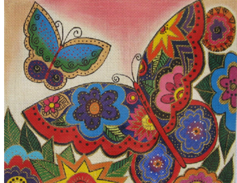 Laurel Burch:LB-85 (Merci Butterflies)