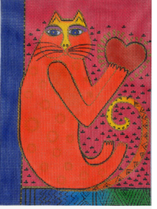 Laurel Burch:LB-115 (Heart Cat)