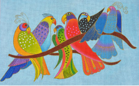 Laurel Burch:LB-117 (Songbirds)