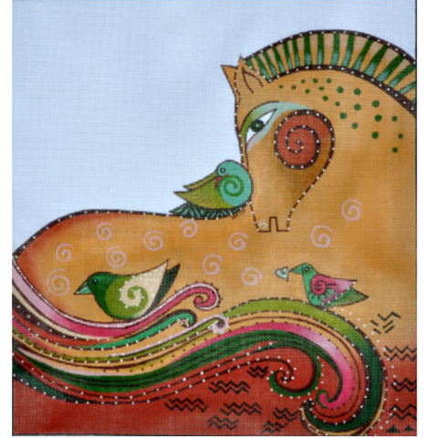 Laurel Burch:LB-131 (Earth Mare)