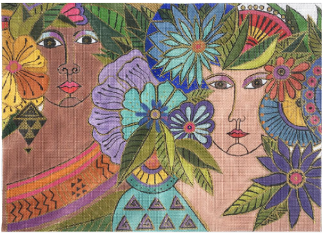 Laurel Burch:LB-138 (Blossoming Women)