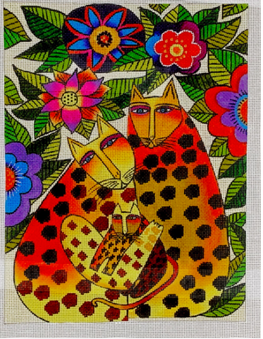 Laurel Burch:LB-146 (Leopard Family)