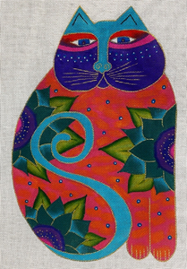 Laurel Burch:LB-153 (Lotus Cat)