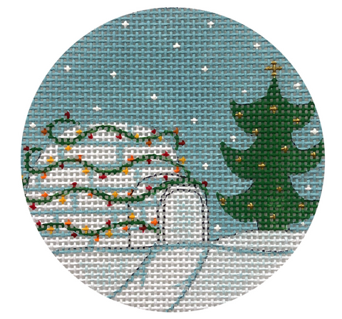 Christmas Igloo Ornament