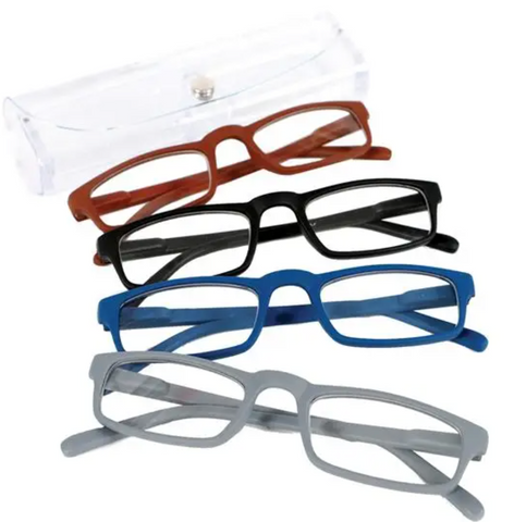 Solid Matte Reading Glasses