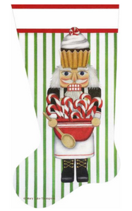 Cupcake Cook Nutcracker Stocking  MLT382C