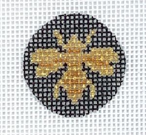 Bee Insert Canvas - Planet Earth Key Fob