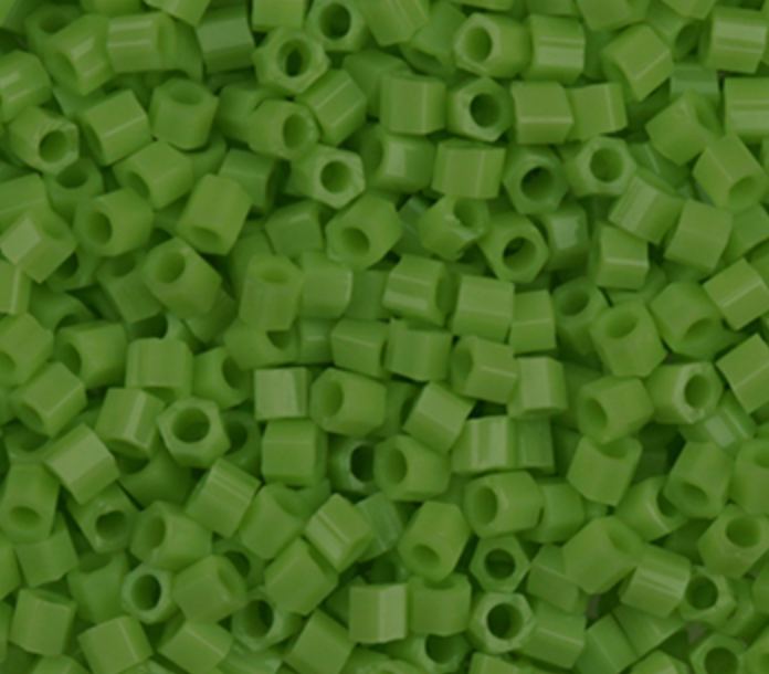 Sundance Hex Bead 14/H411A HEX PEAR GREEN