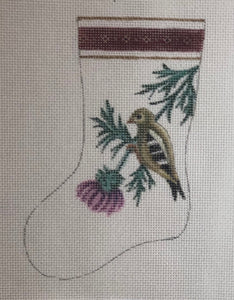 Mini Stocking - bird  ab574