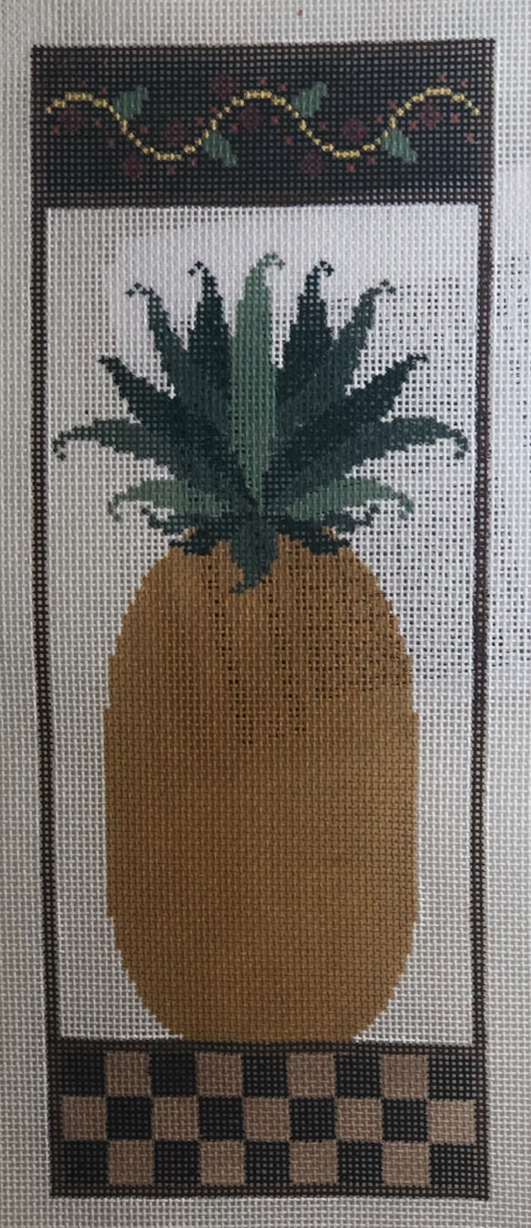 PINEAPPLE WITH STITCH GUIDE 2713