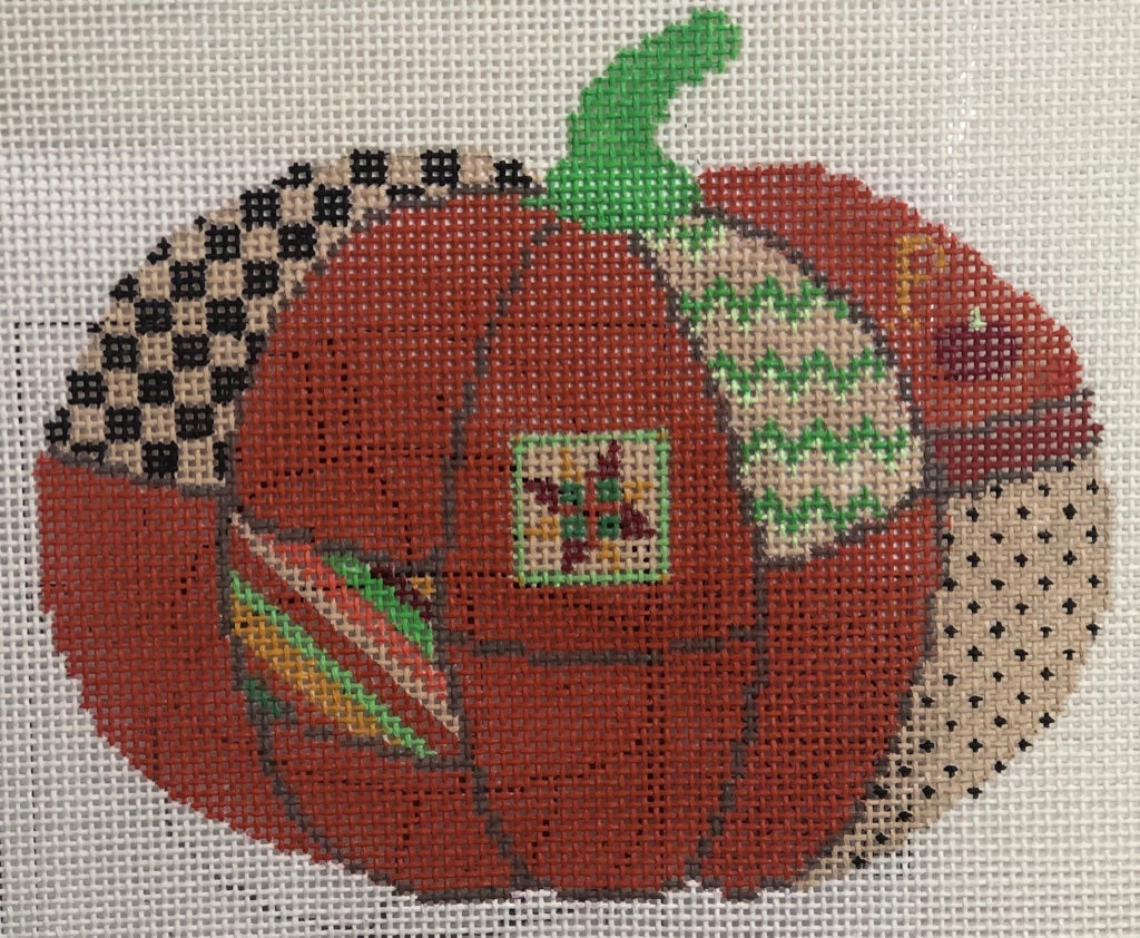 PUMPKIN WITH STITCH GUIDE Hs5345