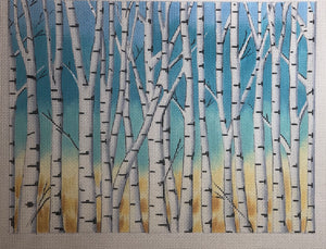 AP2917 Birch Trees