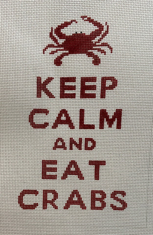 P115 Keep Calm and Eat Crabs