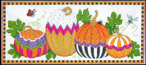 Funky Punkins Long Rectangle