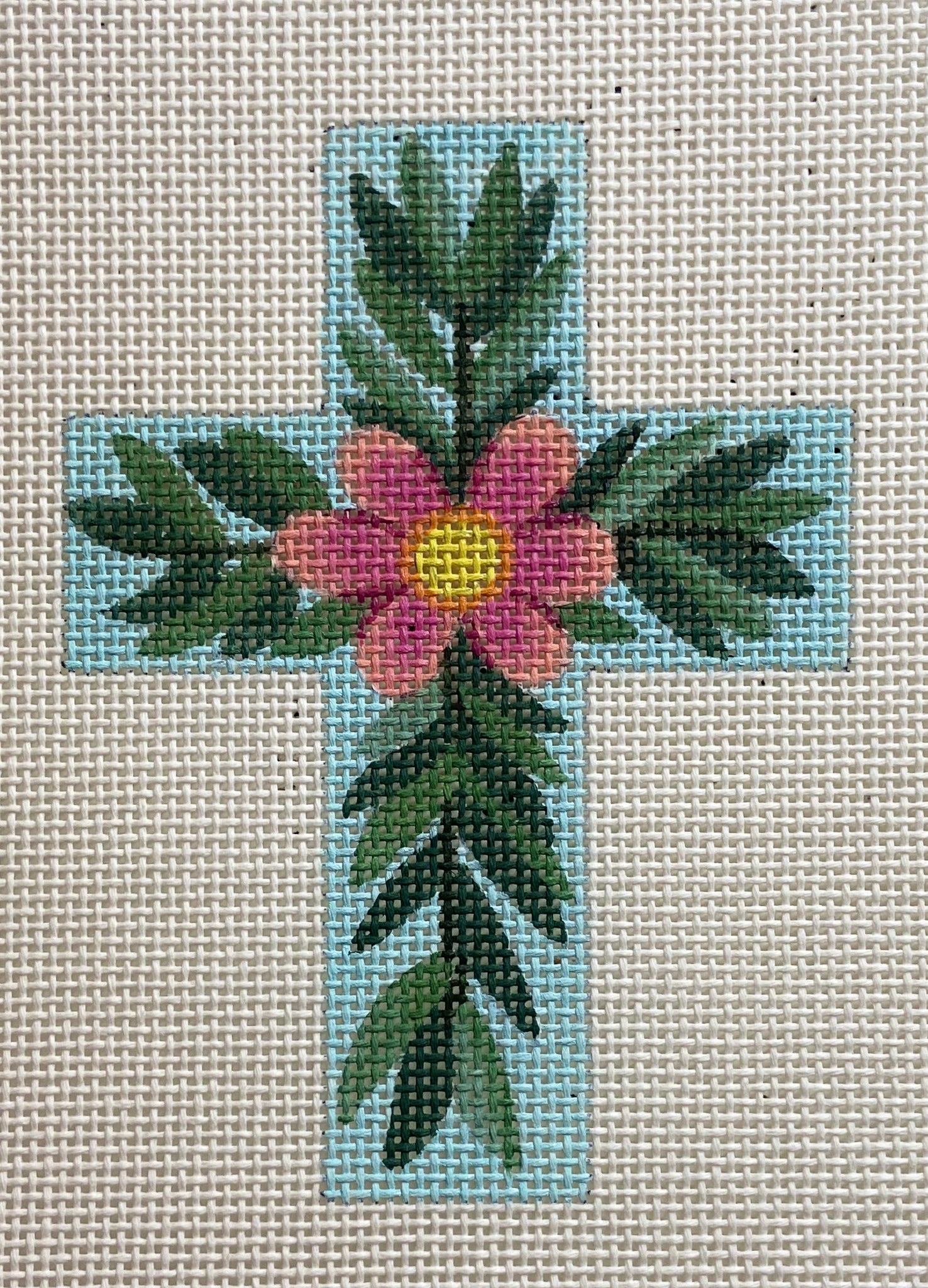 Small Floral Cross 106G