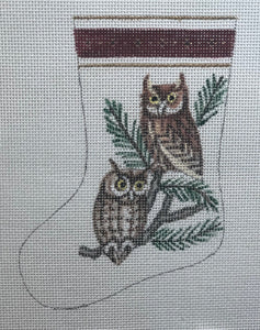 Owl Mini Stocking ab573