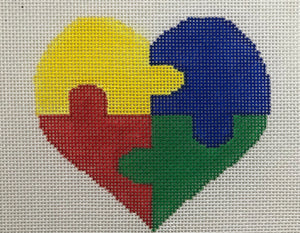 SV-H001 Autism Heart