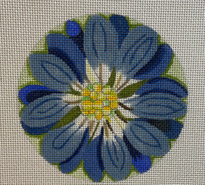 Floral Coaster, Patch or Ornament 701B