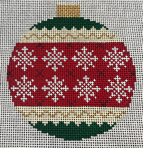 Holiday Bauble - Snowflakes KB1523